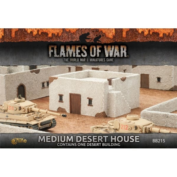 Gale Force Nine - Medium Desert houses - BB215 - 15mm