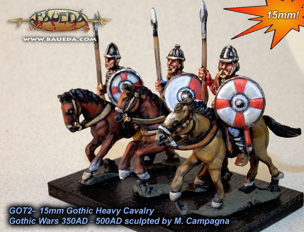 Baueda - Gothic heavy cavalry - 15mm