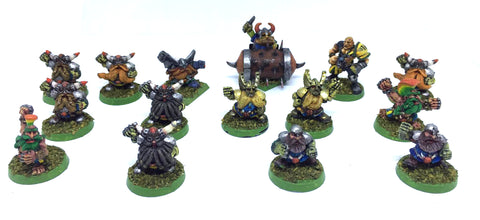 Blood Bowl - Games Workshop - Dwarves Team 3° Edition - 28mm - GOOD PAINTED