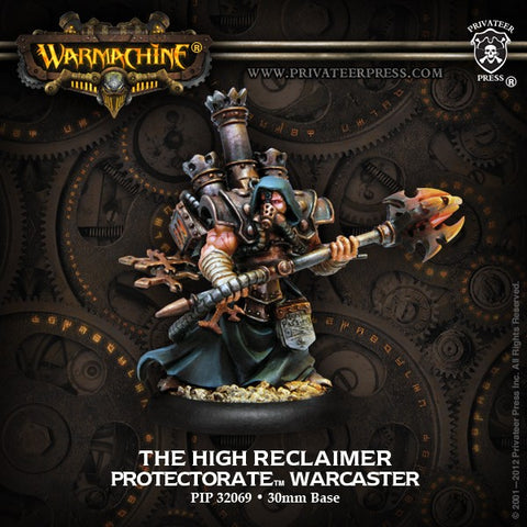 Warmachine - The high reclaimer - 2010 warcaster - 28mm