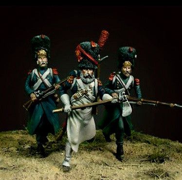Oniria Miniatures - The Old guard at Plancenoit II - 36mm