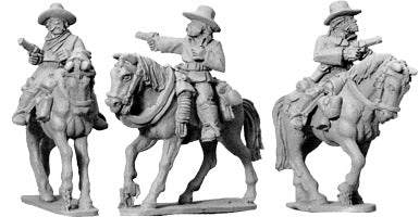 Artizan - 7th Cavalry w/ Pistols (Mounted) - 28mm