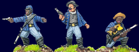 Artizan - Buffalo Soldiers Command - 28mm