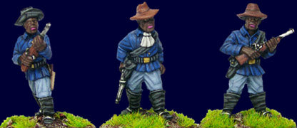 Artizan - Buffalo Soldiers with Carbines (foot) - 28mm