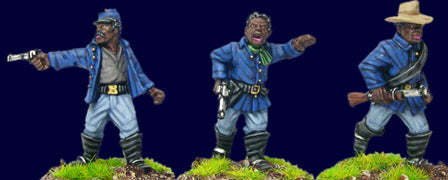Artizan - Buffalo Soldier Characters - 28mm