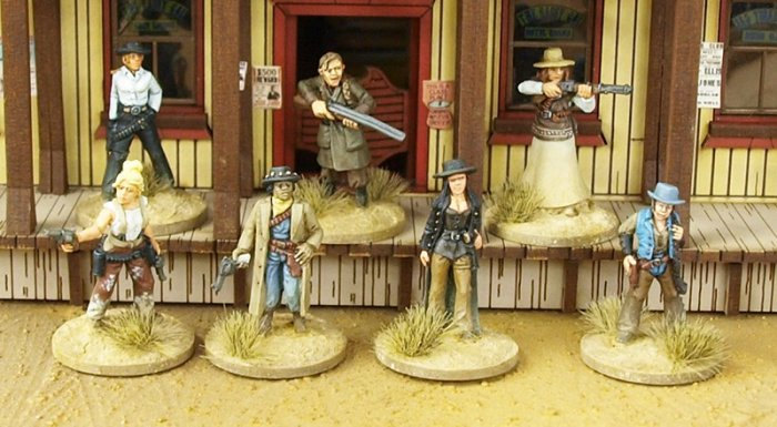 Great Escape Games - DMHG-DAU - Dead Man's Hand - Daughters of the West - 28mm