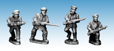 World War II > Partisans  WWP050 - Partisans with Rifles - 28mm