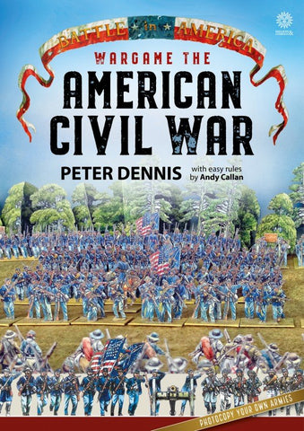 Helion & Company - Wargame the American Civil War - Paper Soldiers