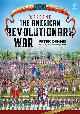 Helion & Company BP1600 - The American Revolutionary War - Paper Soldiers