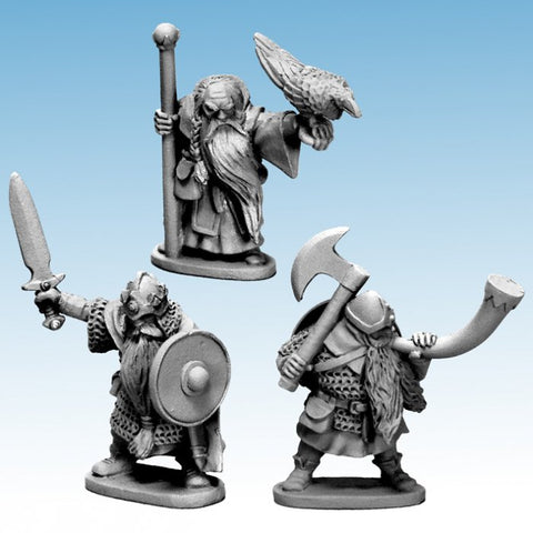 North Star - Dwarf King, Wizard & Musician - 28mm