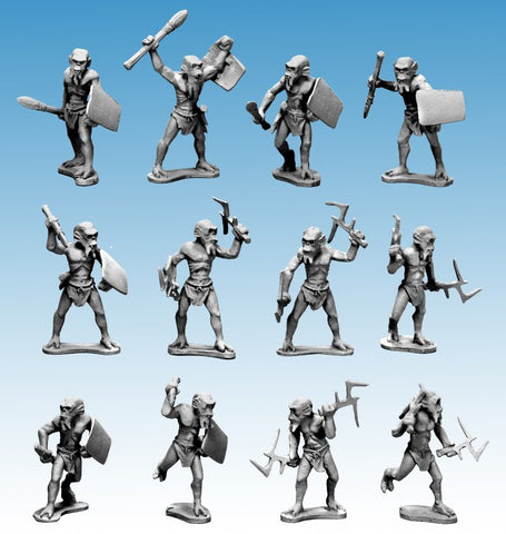 North Star Steampunk - Alien Tribal Warband - DOTRPb