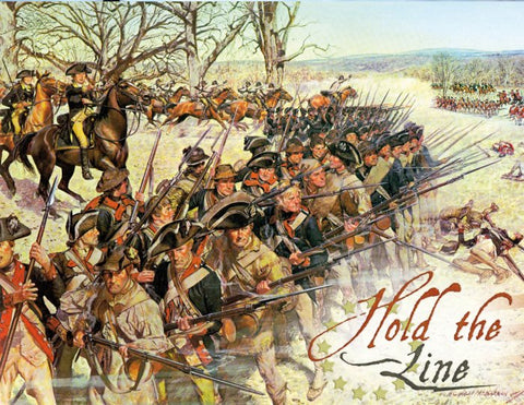 Boardgame PSC003 - Worthington Games - Hold the Line: The American Revolution