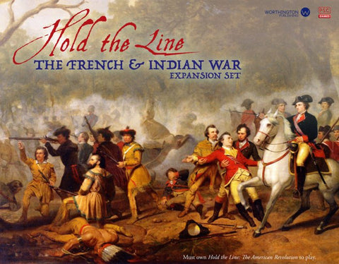 Boardgame PSC004 - Worthington Games - Hold the Line: French Indian Wars Expansion