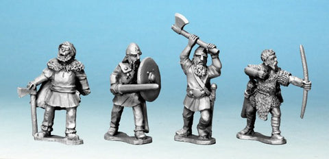 Crusader - DAX001 - Viking Mercenaries I - 28mm