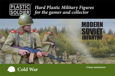 Plastic Soldier - Cold War Soviet Infantry - 15mm - MOD015001
