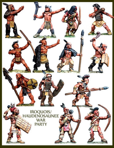 Crucible Crush - Iroquois/Haudenosaunee War Party - CC-66002