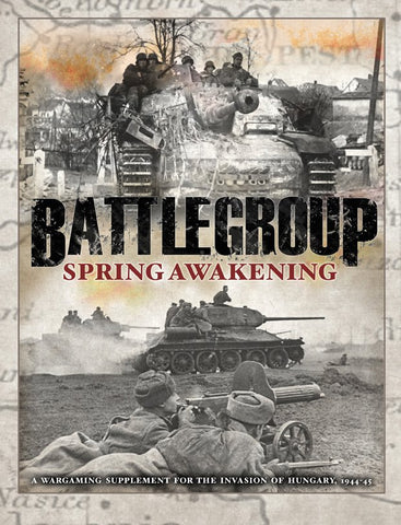 Battlegroup Rulesets BP1663 - Battlegroup Spring Awakening and Hungary (OOP)