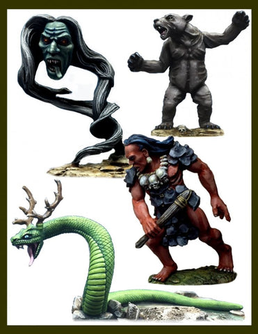 Crucible Crush - Iroquoian Spirit Creatures Boxed Set - CC-66003