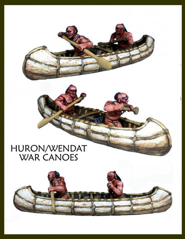 Crucible Crush - Huron/Wendat War Party Canoes - CC-66004