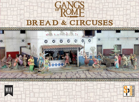 Footsore Miniatures & Games WBSS002 - Gangs of Rome: Bread and Circuses