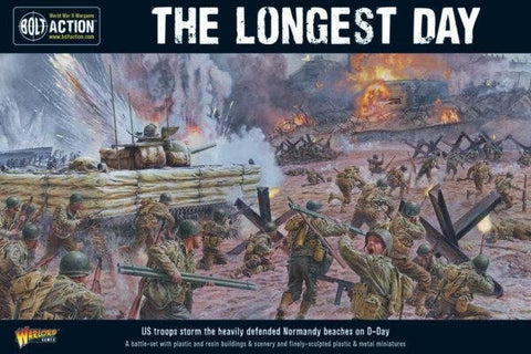 Warlord Games 402610001 - The Longest Day. D-Day Battle-Set
