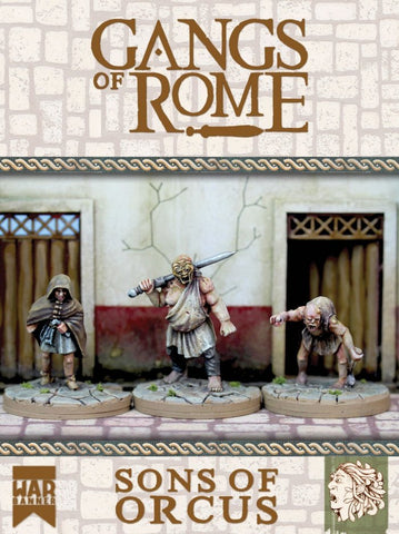 Footsore - Gangs of Rome  WBGORSOO - Gangs of Rome: The Sons of Orcus - 28mm