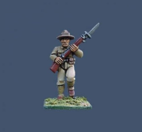 Pulp Figures - PYS 09 - U.S. Marines/Tropical/Montana Hat (unit builder) - 28mm