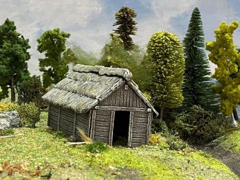 Renedra - RNWOODOUT - Terrain and Accessories - Timber Outbuilding - 28mm
