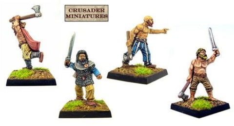 Copplestone Castings - Horse Tribe Foot Archers - 10mm