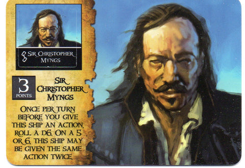 Wizkids Pirates - Sir Cristopher Myngs - EC-002
