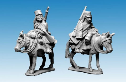 Artizan - French Foreign Legion - Legion Mounted Company in greatcoats and kepi - 28mm - MOD042