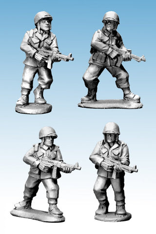 Artizan SWW374 - US Infantry SMGs (Late War) WWII - 28mm