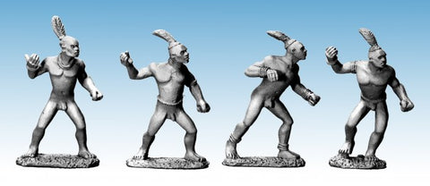 28mm High Adventure African Villagers Copplestone Castings AF10