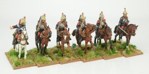 Great War miniatures - French Cuirassiers (pack 2) - F116 - 28mm