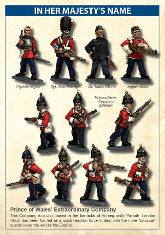 North Star - Prince of wales' extraordinary company - 28mm