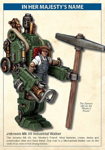 North Star - Johnson mk VII industrial walker - 28mm