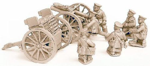 Great War miniatures - British 13pdr Mk1 Gun - GUN1 - 28mm