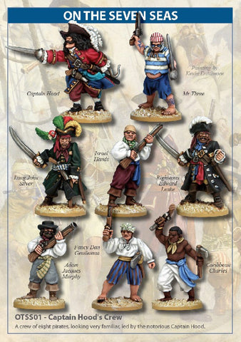 North Star - Captain Hood's Crew - 28mm