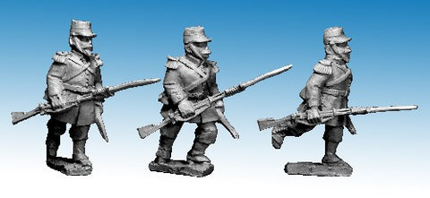 Great War miniatures - French Line Chasseur 'At The Trail' - CF35 - 28mm