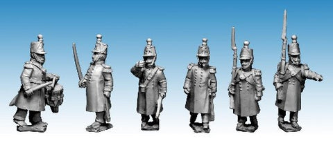 Great War miniatures - French Guard Voltigeur Command - CF21 - 28mm