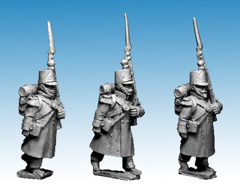 Great War miniatures - French Guard Voltigeur Advancing - CF22 - 28mm