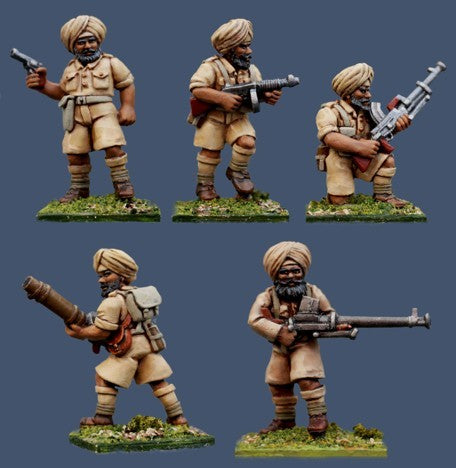 Pulp Figures - Sikh Special Weapons - 28mm - PBT 06