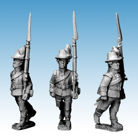Great War miniatures - Swedish Infantry Advancing (R-S War) - SWE 02 - 28mm