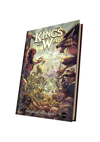 Mantic - Kings of War - The Game of Fantasy Battles (Hardback) - BP1487