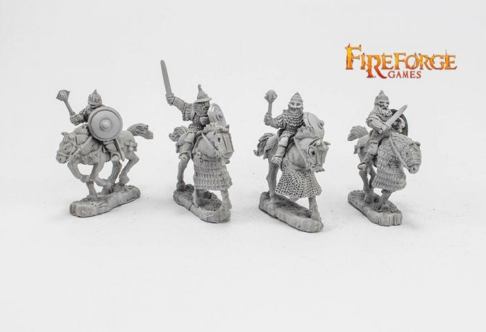 Fireforge Games - FFG149- Vult - Senior Druzhina mixed weapons - 28mm