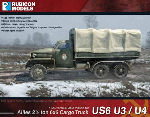 US Standard - 28 Allied Willys MB ¼ ton 4x4 Truck Rubicon Models RU-280049