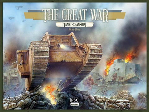Boardgame TGW020 - Plastic Soldier - The Great War: Tank Expansion - 1:72