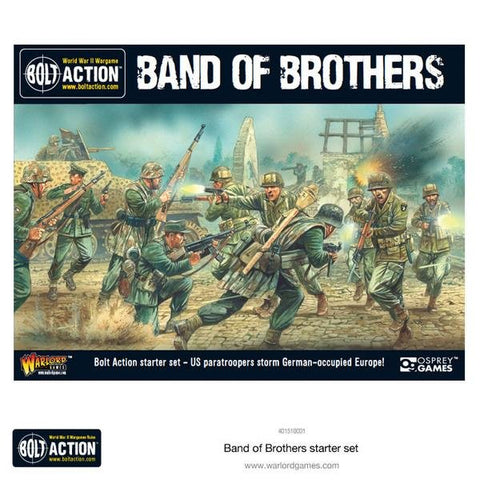 Bolt Action - 401550001 - 2 Starter Set (Band of Brothers) - 28mm