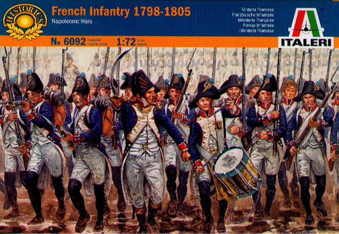 Italeri 6092 - French Infantry 1798-1805 (Napoleonic Wars) - 1:72