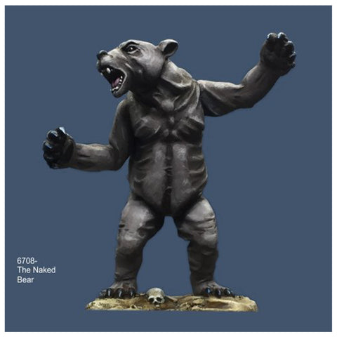 Crucible Crush - The Naked Bear Spirit Creature - CC-67008